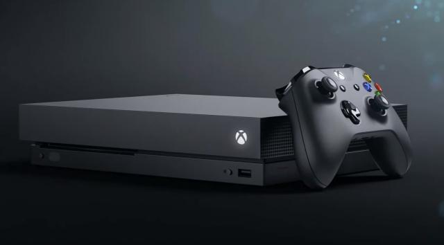 Xbox One X – новая консоль от Microsoft