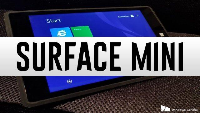 Информация и фотографии отменённого планшета Microsoft Surface Mini