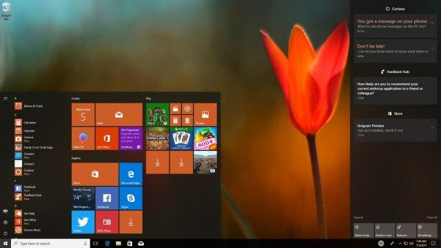 Анализ Fluent Design System для Windows 10