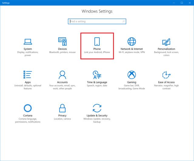Сборка Windows 10 16251 позволяет привязать Android-смартфон к компьютеру