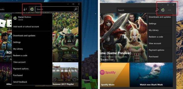 Магазин приложений Windows Store получил небольшое обновление интерфейса