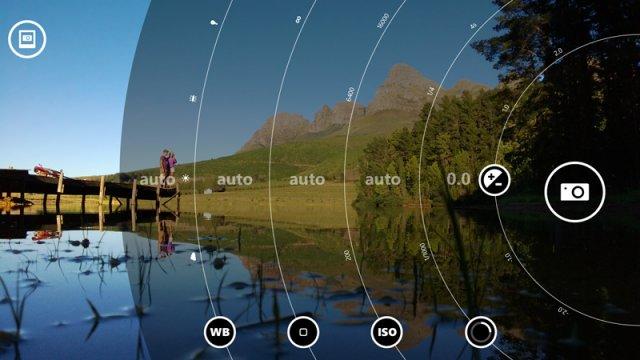 Nokia возвращает интерфейс Lumia Camera