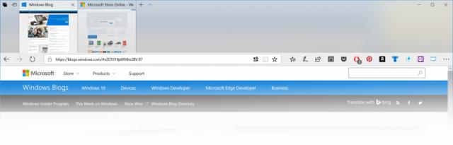 Fluent Design для Microsoft Edge и Eye Control появляются в последней сборке Windows 10