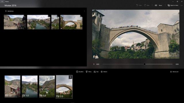Microsoft делает новые функции приложения Фотографии в Windows 10 доступными для всех