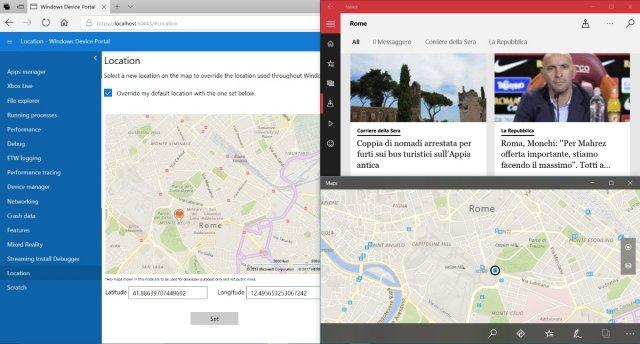 Device Portal для Windows 10 получит смешанную реальность