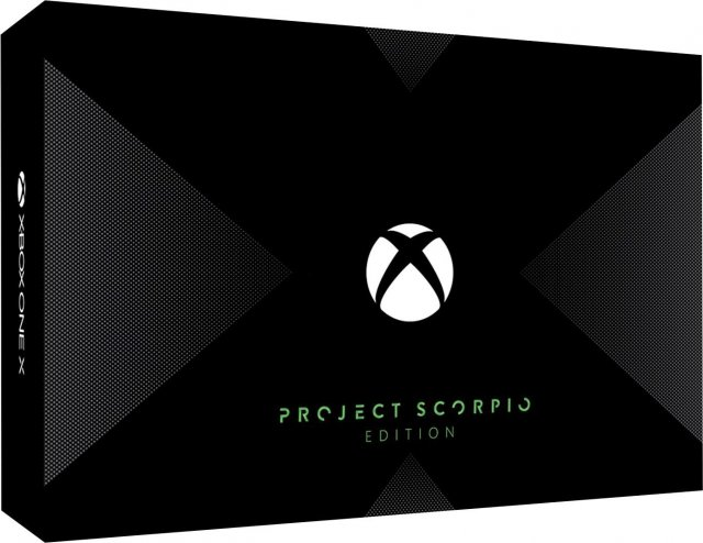 Xbox One X: Project Scorpio Edition попал в сеть перед анонсом