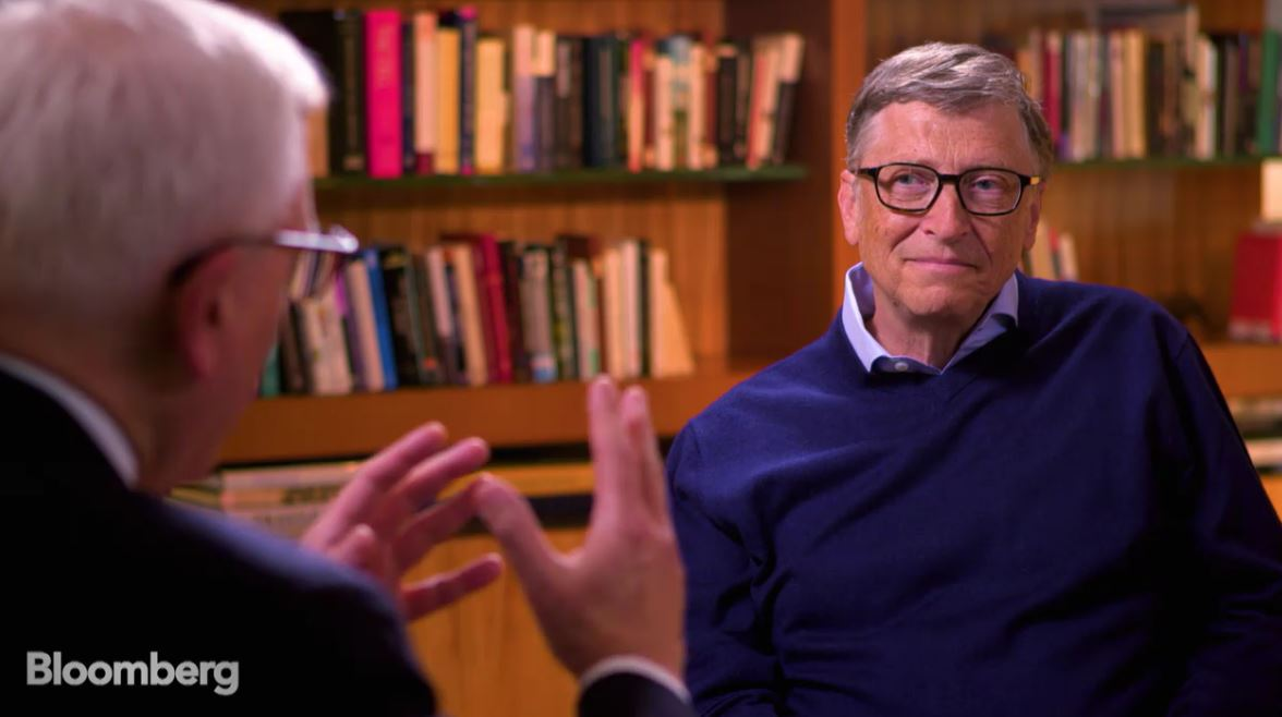 interview with bill gates This week, bill gates decided to have a go and he shared a lot of great information on a wide range of topics such as immortality, his regrets in life.