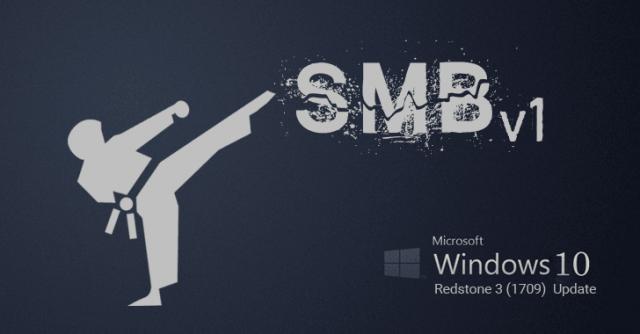 Как отключить сетевой протокол SMBv1
