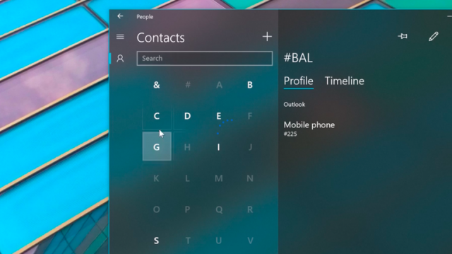 Fluent Design System в Windows 10 Fall Creators Update