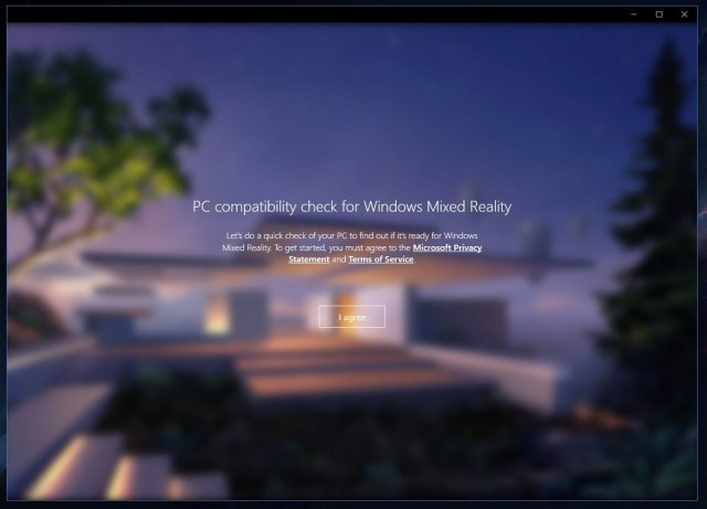 Новое приложение Windows Mixed Reality PC Check доступно в магазине Windows Store