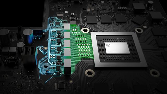Внутри игровой консоли Xbox One X