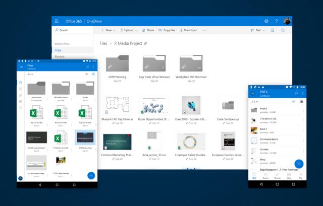 Microsoft поделилась информацией об обновлённом дизайне OneDrive