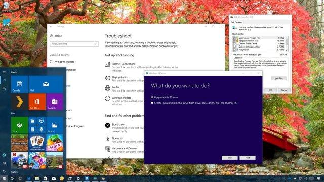 Распространённые проблемы при установке Windows 10 Fall Creators Update и их решение