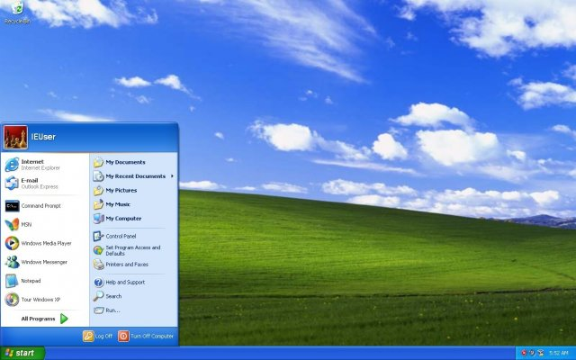 Доля рынка Windows XP составляет около 2%