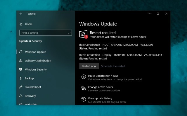 Список изменений Windows 10 Build 18362.329