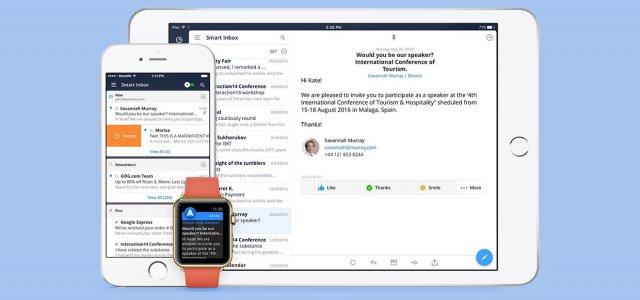 Почтовый клиент Spark стал доступен на iPad