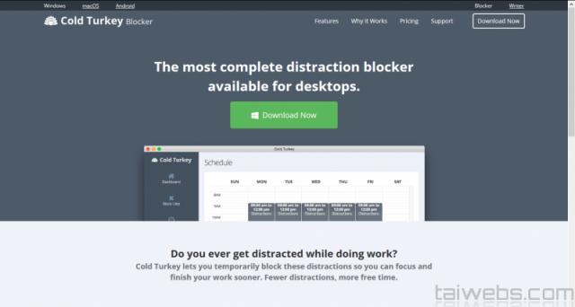 Cold Turkey Blocker 3.10 - Заблокировали