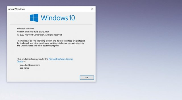 Windows 10 версии 2004 выпущена для большего числа пользователей