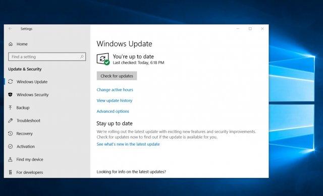 Новые обновления для Windows 10 октябрь